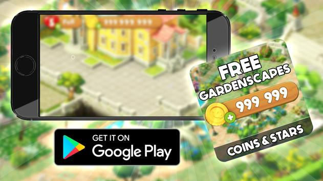 Free Coins Gardenscapes  Cheats : Prank screenshot 1