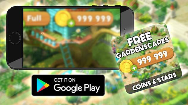 Free Coins Gardenscapes  Cheats : Prank screenshot 2