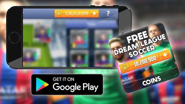 Free Coins Dream League Game Hack : Prank screenshot 2