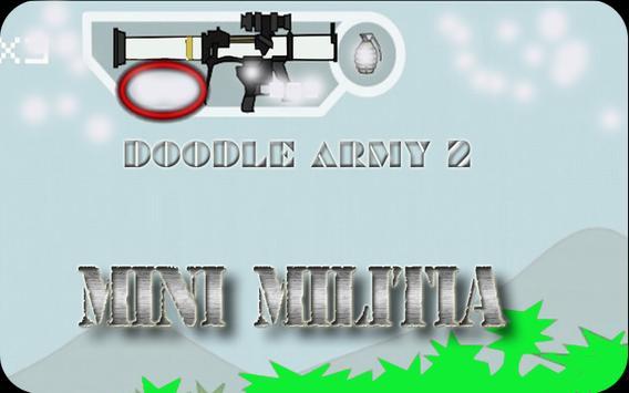 Cheats for Doodle Army 2 : Mini militia apk screenshot