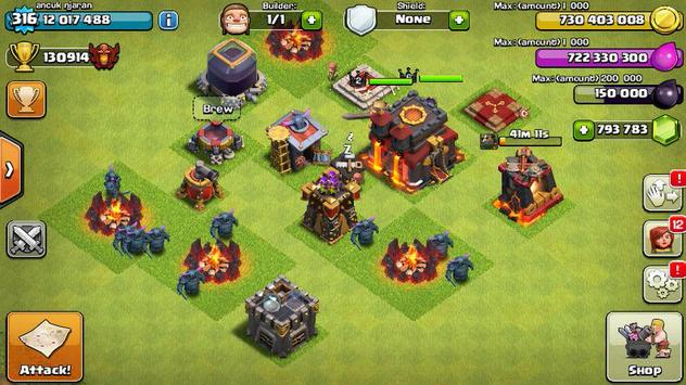 Cheat for Clash of Clans screenshot 1