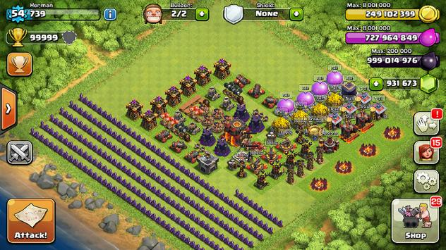 Cheat for Clash of Clans screenshot 2