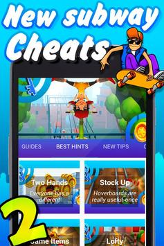 Best Cheats for Subway Surfers poster
