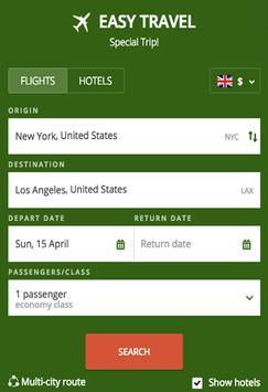 Cheap Flights & Hotels poster