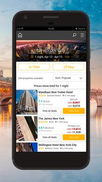Cheap Hotels Booking Scanner poster