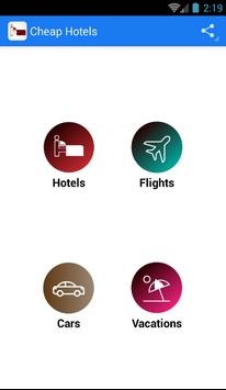Cheap Hotels - Hotel Booking poster