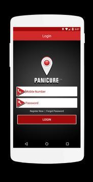 PANICURE-PANIC BUTTON apk screenshot