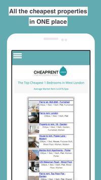 Cheap Rent London - UK Property Search poster