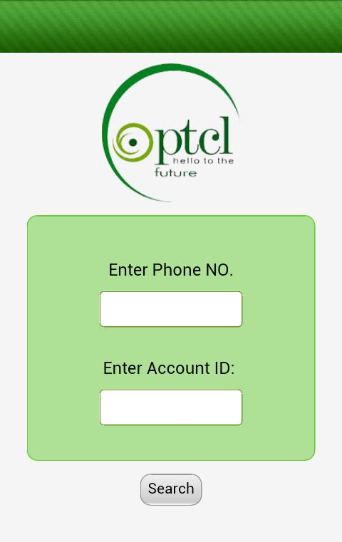 Check PTCL BILL for Android - APK Download