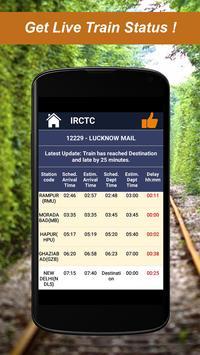 Railway PNR Check apk screenshot