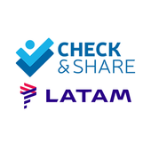 LATAM Check and Share icon