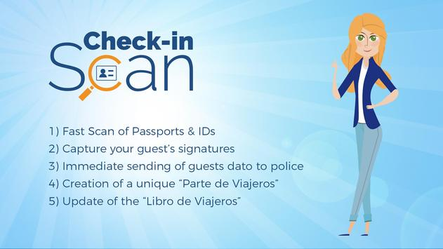 Check-in Scan poster