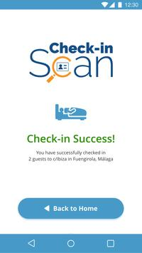 Check-in Scan screenshot 1