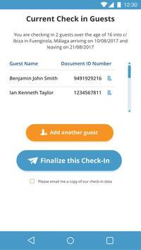 Check-in Scan apk screenshot