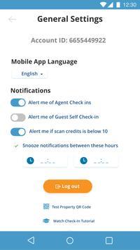 Check-in Scan screenshot 5
