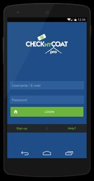 CheckMyCoat Pro poster