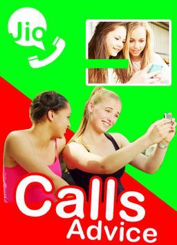 Free Jio4GVoice video call tip apk screenshot