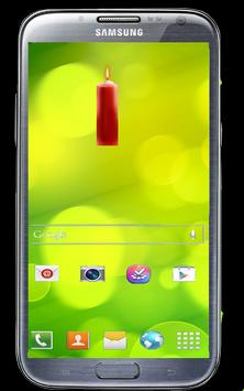 Candle Battery Widget poster