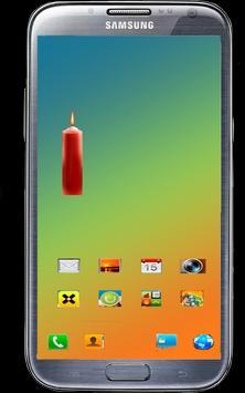 Candle Battery Widget screenshot 1