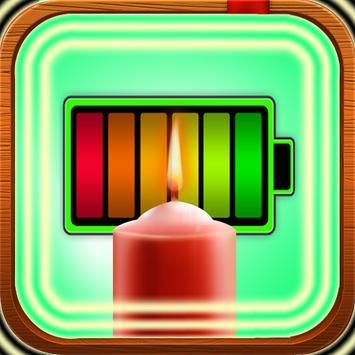 Candle Battery Widget screenshot 2