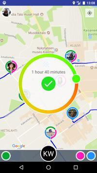 KnoWhere - Share Location apk screenshot