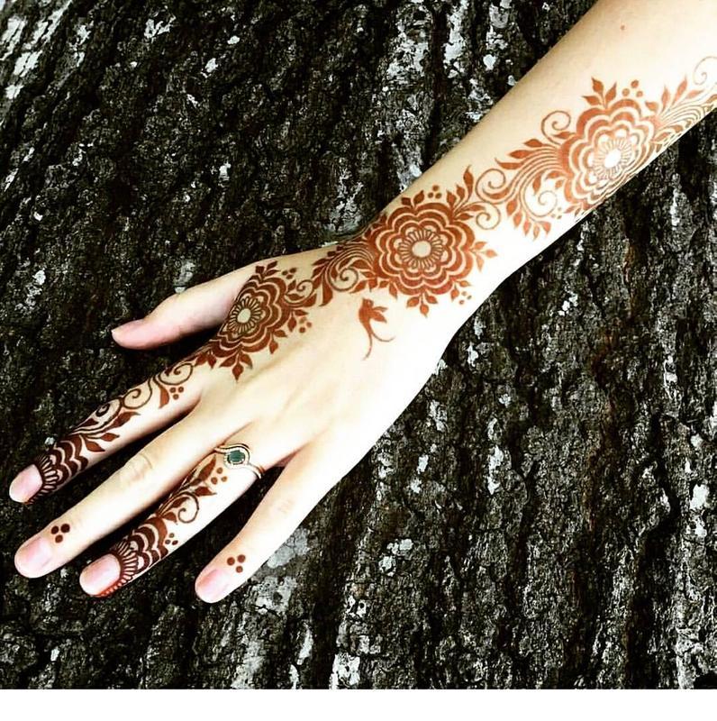 Dubai Arabic Mehndi Henna Design: Dubai Mehndi Designs 2018 For Android