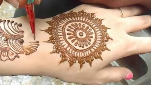 Mehndi Hands With Mobile : Gol tikki mehndi designs for android apk download