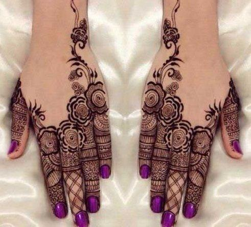 arabic khafif mehndi designs