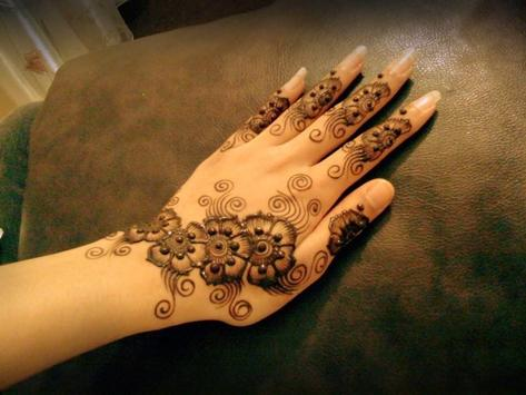 UAE Arabic Mehndi Designs poster