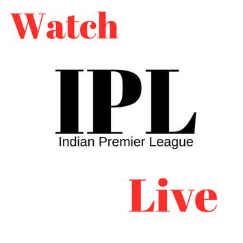 IPL Live 2018 poster