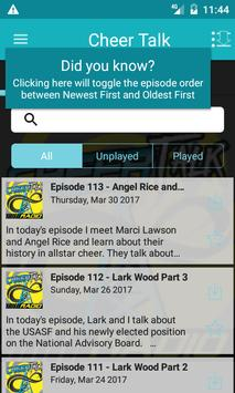 Cheer Talk Radio apk screenshot
