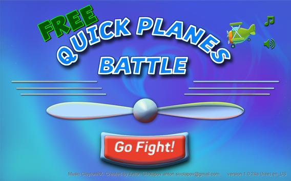 Quick Plane Games - air fighter sky battle ww1 ww2 poster