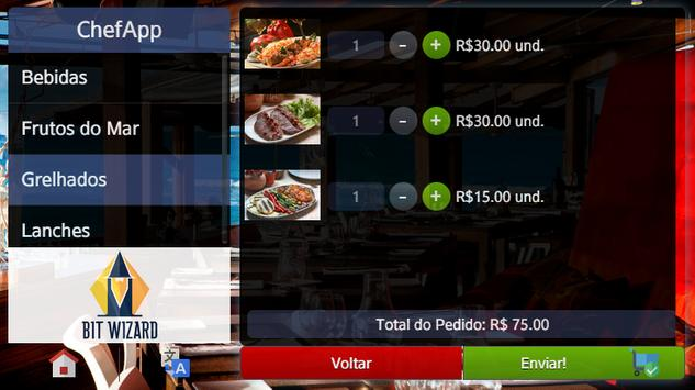 ChefApp Cardápio Digital apk screenshot