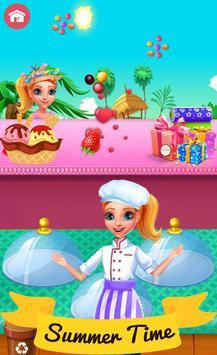 Summer Chef Kids Cooking Game apk screenshot