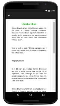 Chinko Ekun - Music And Lyrics screenshot 4