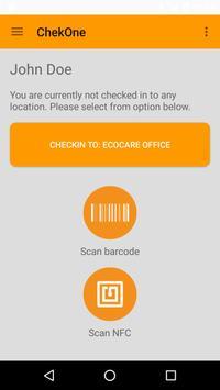 ChekOne Service App poster
