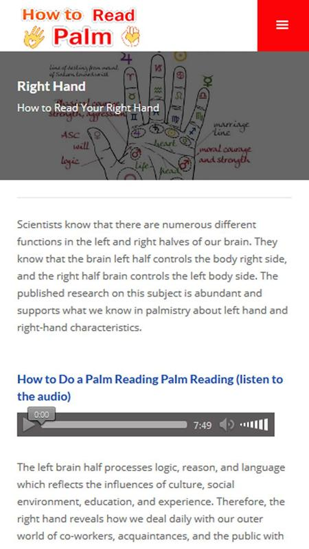 how to start palm readings Reading room  reference room  other markings — for a description of other important markings on the palm,  to learn more about the basics of palmistry, visit.