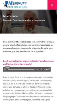 Mensajes del Papa Francisco apk screenshot