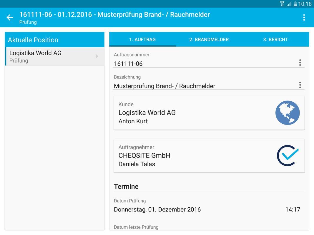 Brandmelder / Rauchmelder Prüfung und Inspektion APK Download - Free ...