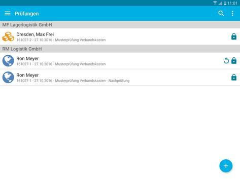 Verbandskästen - Prüfung und Inspektion screenshot 16