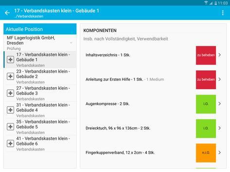 Verbandskästen - Prüfung und Inspektion screenshot 12