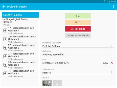 Verbandskästen - Prüfung und Inspektion screenshot 21
