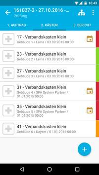 Verbandskästen - Prüfung und Inspektion screenshot 3