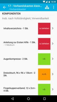 Verbandskästen - Prüfung und Inspektion screenshot 4