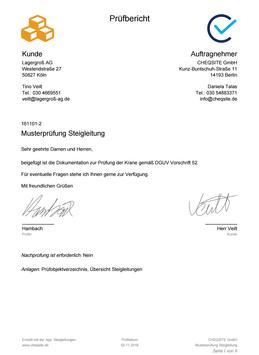 Steigleitungen - Prüfung und Inspektion screenshot 14