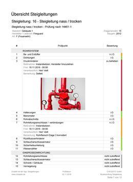 Steigleitungen - Prüfung und Inspektion screenshot 15
