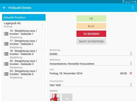 Steigleitungen - Prüfung und Inspektion screenshot 13