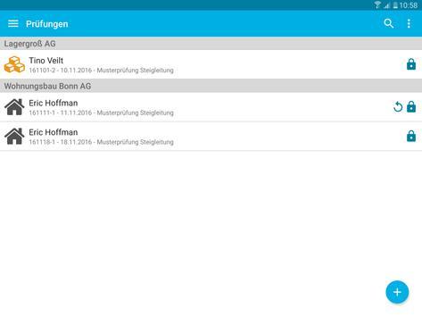 Steigleitungen - Prüfung und Inspektion screenshot 8