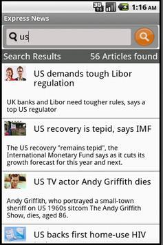 Express News apk screenshot