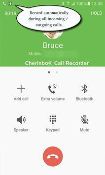 Регистратор звонков: Запись голоса в обе стороны постер